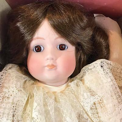 """Bradley's Doll Porcelain Collector's BRIE Made in Taiwan, 18"""" In"""