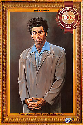 New The Kramer Original With Printed Frame Oil Painting Art Print Premium Poster
