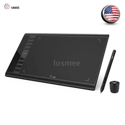 """Ugee 10 x6"""" Digital Graphics Drawing Tablet PC Artist Board Pad Painting 5080LPI"""