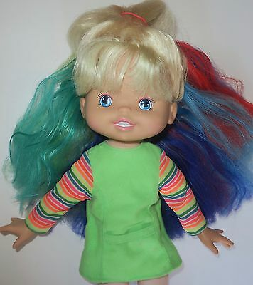 """Up Up & Away RAINBOW BRITE 15"""" Doll w/ Clothes & Shoes"""