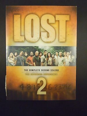 Lost - The Complete Second Season MISSING DISCS 1&2 !!!!(DVD, 2006, 7-Disc Set)
