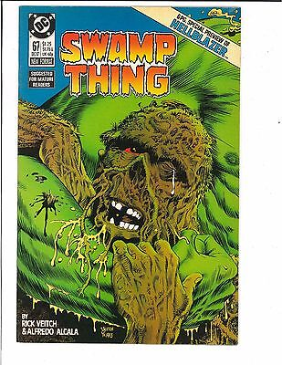 Swamp Thing #67 2nd Series 1987 DC Comics Hellblazer Preview Constantine