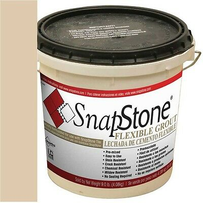 SnapStone 9-lb Almond Urethane Premixed Based Grout Flexible Water-Resistant