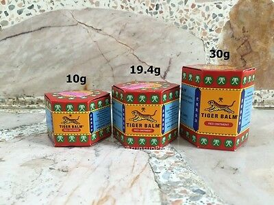 TIGER BALM RED muscle aches pain relief ointment Natural massage 10,19.4,30g.