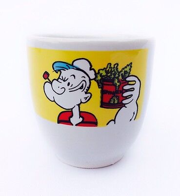 Vintage 1989 Popeye The Sailor Man Egg Cup King Features Syndicate Inc