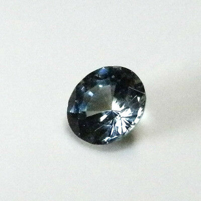 Natural Australian earth-mined blue/green/yellow round sapphire ..0.33  carat