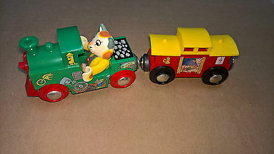 Richard Scarry Busytown Huckle Cat and Train Brio 32515 Wooden Railway