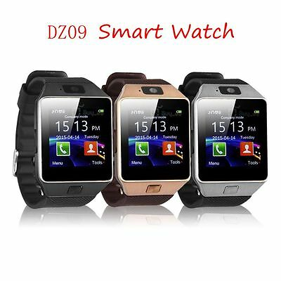 Stylish Waterproof Bluetooth Smart Watch SIM Phone Mate For IOS Samsung Android