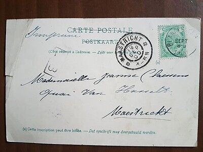 Carte postale ancienne Timbree