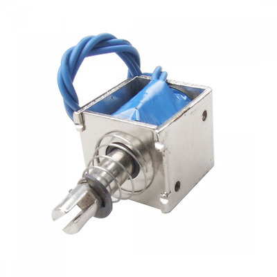 uxcell® DC 24V 0.35A Open Frame Solenoid Electromagnet 20N Holding Pull Typ