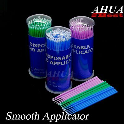 Micro Brush Disposable Extension Medicine Stick Eyelash Applicator Mascara Wands
