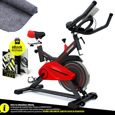 Cyclette professionale Speed Bike SX100 Indoor peso utente fino a 120 kg