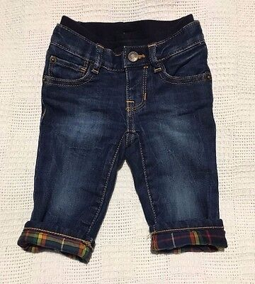 New GAP baby boy lined jeans 3-6 months
