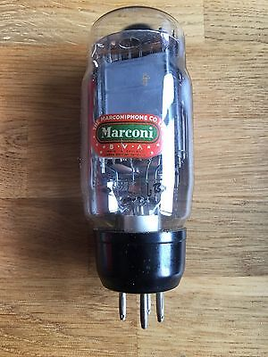 Vintage Pair of Marconi Valves PX4 Old/New and Tested