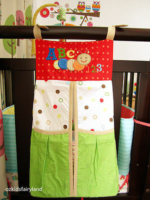 CLEARANCE !!! Brand NEW Cute ABC 123 Nursery Diaper Nappy Stacker