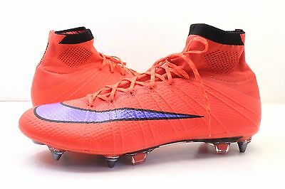 Nike Mercurial Superfly SG PRO Mens football boots UK size 10