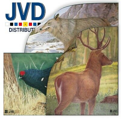 JVD Archery Animal Target Faces (Qty 5)