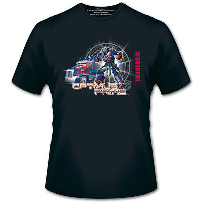 Transformers 4 T-Shirt Optimus Prime with Car