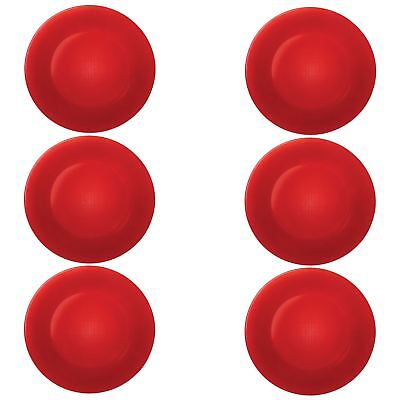 Bormioli Rocco Round Charger Under Plates, Placemats Red - 310mm - x6