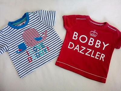 Baby Boys Clothes NEXT & TU T-SHIRTS 3-6 Months Hardly Worn Next Day Post VGC