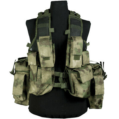 Mil-Tec South African Army Tactical Assault Combat Vest Adjustable Mil-Tacs Fg