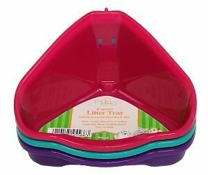 Harrison's Small Animal Corner Litter Tray 16cm Ideal for (Gerbills, Hamster and