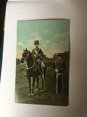 Early  7thHussars EFA  Military Postcard