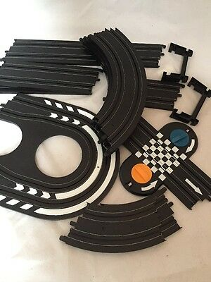 Spare Micro Scalextric Track Straights And Curves