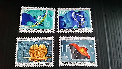 Papua New Guinea  1972 Sg 214-215 25Th Anniv Of Commission   .mnh