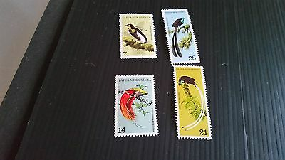 Papua New Guinea  1973 Sg 237-240 Birds Of Paradise .mnh