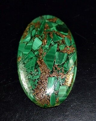 Elegant 39.95 Cts. Natural Copper Malachite Oval Cabochon Loose Gemstones