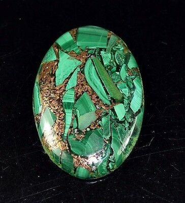 Elegant 33.00 Cts. Natural Copper Malachite Oval Cabochon Loose Gemstones