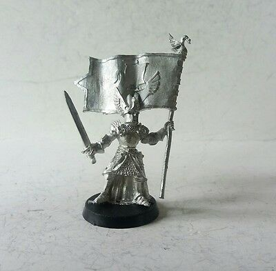 games workshop Lord of the rings metal dol amroth command banner
