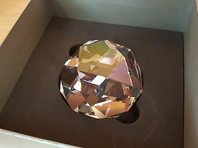 Swarovski  Celebrating 120 Years  Paperweight - Mib - Rarity A+++