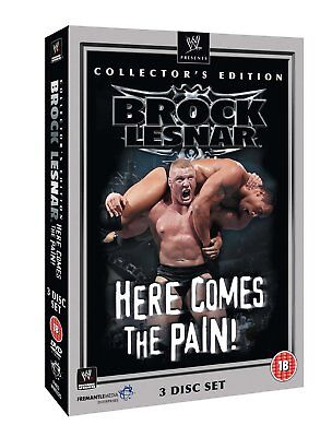 WWE: Brock Lesnar: Here Comes The Pain -Collectors Edition [DVD] -Official Store