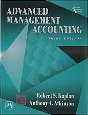 Advanced Management Accounting 3Ed