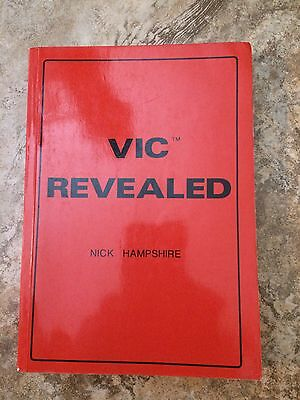 VIC REVEALED by Nick Hampshire FIRST EDITION VC20 64 projects VINTAGE