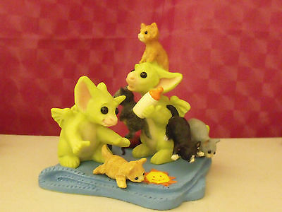POCKET DRAGON HERDING THE CATS - ONLY 1000 MADE - signed by Real and Muff!