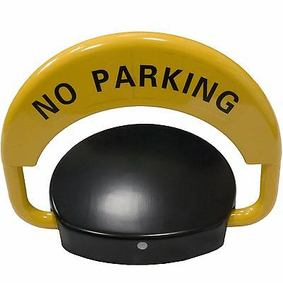 Remote Control Parking Space Saver Lock Car Park Driveway Auto Barrier Alarmed