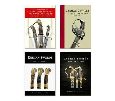 The Four Books - The British, German and Russian Swords