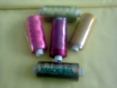 A Selection Of Madeira Machine Embroidery Threads