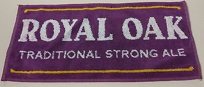 """Vintage -Royal Oak,Traditional Strong Ale - Beer Bar towel -17"""" x 9"""" -Great READ"""