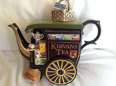 Cardew Collectable Large Novelty Teapot Kirvan Tea Carriage Ltd Ed Grt Condition