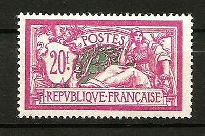 France N° 208 Type MERSON, Le 20 F. NEUF**. Cote 550€.