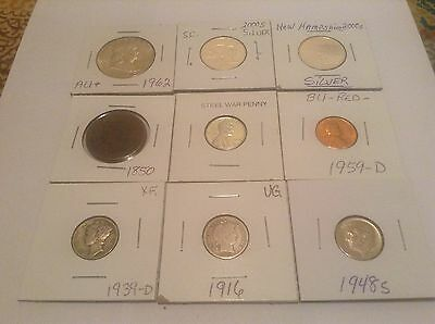 mixed us coin lot with 90% silver