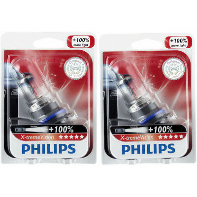 Philips High Low Beam Headlight Light Bulb - 1991-2004 Oldsmobile Achieva jf