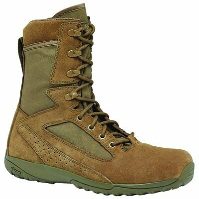 Belleville 115 Tactical Research Mini-Mil Transition Athletic Brown Boot, Size 9