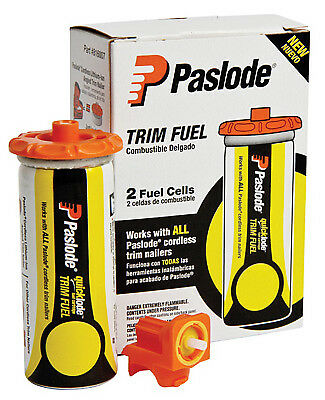 PASLODE Quickload Fuel Cell Pack For Legacy & Paslode Trim Nailers, 2-Pk.