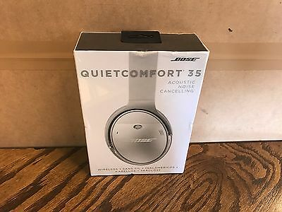 Sealed New Bose QC35 QuietComfort 35 Bluetooth Headphones Noise Cancelling