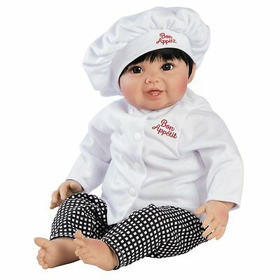 Paradise Galleries Realistic Reborn Baby Doll Bon Appetit Gift USED OPEN BOX